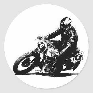 Sticker motorcycle old timer Puch S4