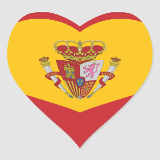Sticker:  My heart is in Spain