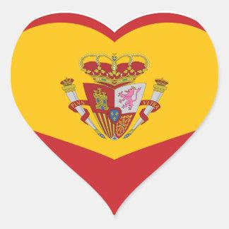 Sticker:  My heart is in Spain Heart Sticker