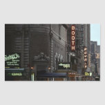 Sticker NYC Vintage Theatre District On Broadway