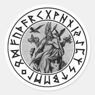 sticker Odin Shield