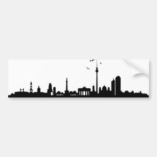Sticker of skyline Berlin
