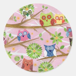 Sticker owl