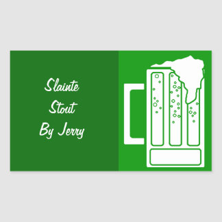 Sticker Party St. Patricks Day Green Beer Homebrew