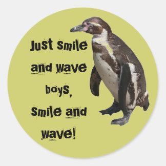Sticker penguin 01