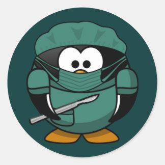 Sticker - Penguin Doctot