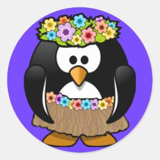Sticker - Penguin Hoola Dancer