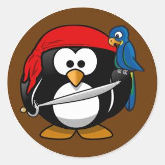 Sticker - Penguin Pirate