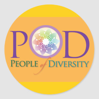 Sticker - People of  Diversity