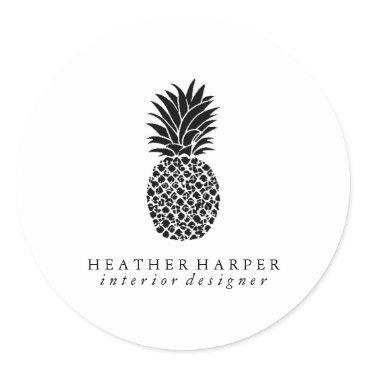 Professional Business Sticker - Pineapple