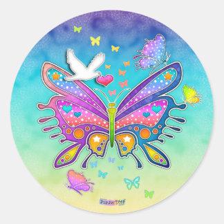 Sticker - POP ART BUTTERFLY