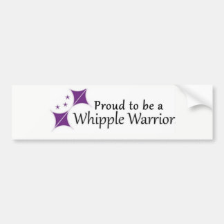 Sticker Proud to be a Whipple Warrior