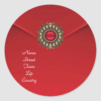 Sticker Red Velvet Jewel