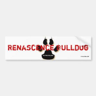 Sticker Renascence Bulldog
