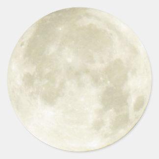 Sticker (rnd) - Full Moon