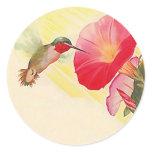 sticker, garden, gardening, gardener, hummingbird,