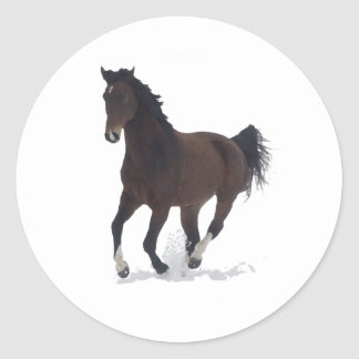 Sticker - running Horse