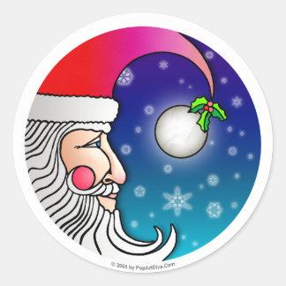 Sticker - Santa Claus Moon