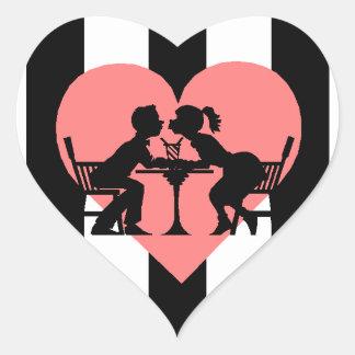 Sticker Scrapbooking First Date Prom Sharing Soda