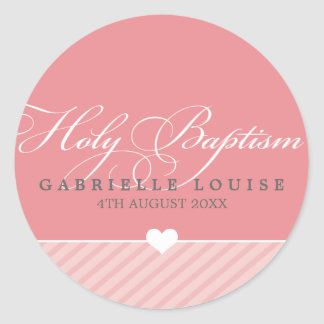 STICKER SEAL - holy baptism :: lovely type 1