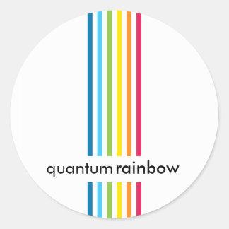 STICKER SEAL :: rainbowed stripe 1