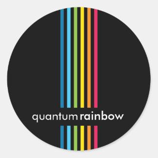 STICKER SEAL :: rainbowed stripe 6