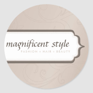 STICKER SEAL :: stylish magnificence 6