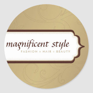 STICKER SEAL :: stylish magnificence 7