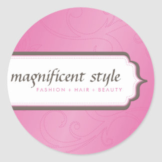 STICKER SEAL :: stylish magnificence 8
