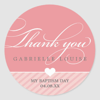 STICKER SEAL - THANK YOU :: lovely type 1