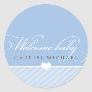 STICKER SEAL - WELCOME BABY :: lovely type 5