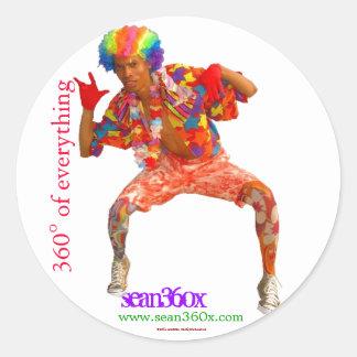 Sticker sean360x 360° Clown