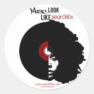 Sticker sean360x MUSic