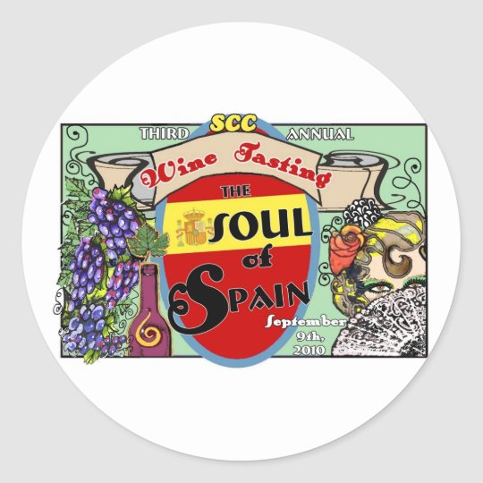 Sticker Sheet -Soul of Spain