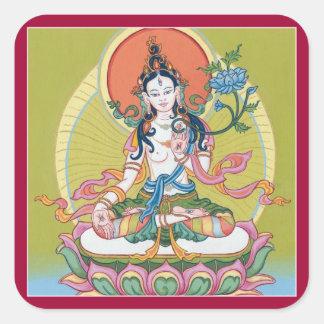 STICKER SHEET - White Tara - Buddha of Longevity