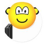 Briefcase emoticon   sticker_sheets