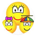 Single mother emoticon   sticker_sheets