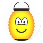 Japanese lantern emoticon   sticker_sheets