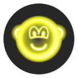 Neon light buddy icon   sticker_sheets