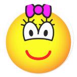 Girl emoticon   sticker_sheets