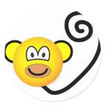 Monkey emoticon   sticker_sheets