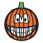 Jack-o-lantern smile   sticker_sheets