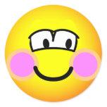 Shy emoticon   sticker_sheets