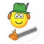 Lumber jack emoticon   sticker_sheets