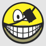 Bearded pirate smile   sticker_sheets