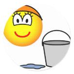 Cinderella emoticon   sticker_sheets