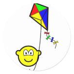 Kite flying buddy icon   sticker_sheets