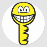 Key smile   sticker_sheets