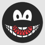 Evil smile Devilish  sticker_sheets