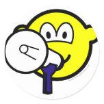Megaphone buddy icon new  sticker_sheets